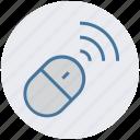 electronics, hardware, media, mouse, multimedia, wireless icon