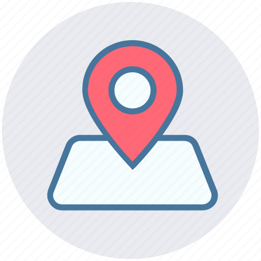 Gps, location, map, map pin, marker, navigation, pin icon - Download on Iconfinder