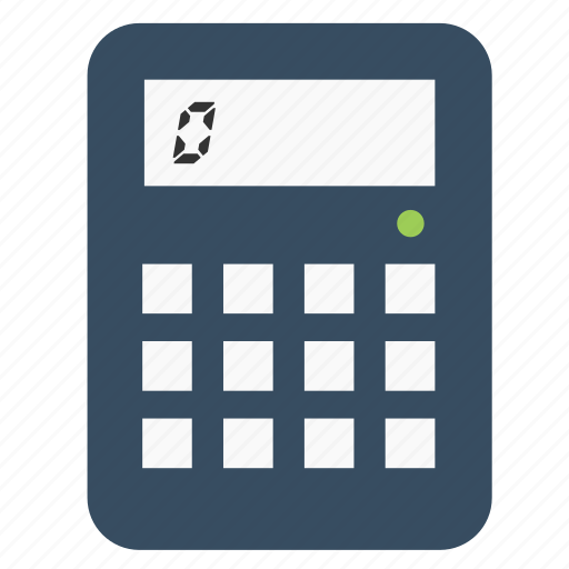 calculate, calculation, calculator, math, multimedia icon