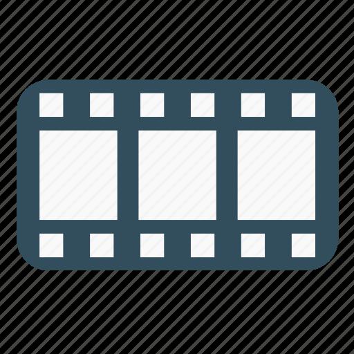 cinema, clip, film, frame, movie strip, multimedia, strip icon