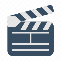 act, cinema, clip, film, multimedia icon