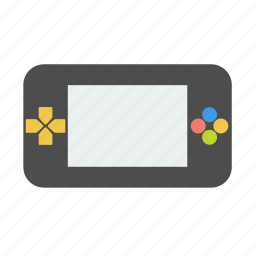 electronics, game, multimedia, play, psp icon
