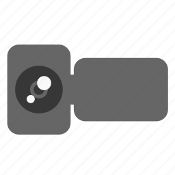 camera, handycam, multimedia, video, video record icon