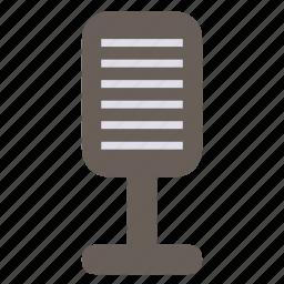 mic, microphone, multimedia, music icon