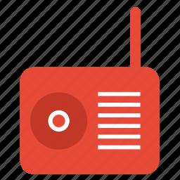 audio, electronics, multimedia, music, radio icon