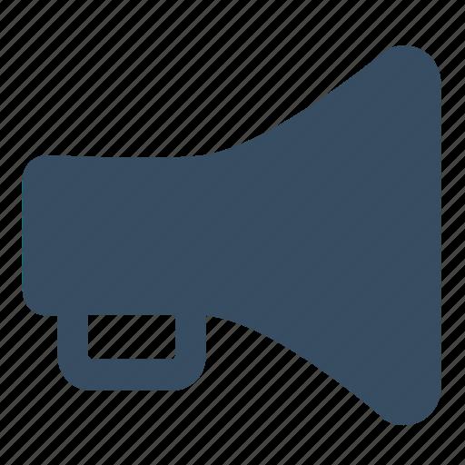 audio, loudhailer, loudspeaker, movie, multimedia, speaker icon