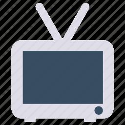 electronics, multimedia, television, tv icon