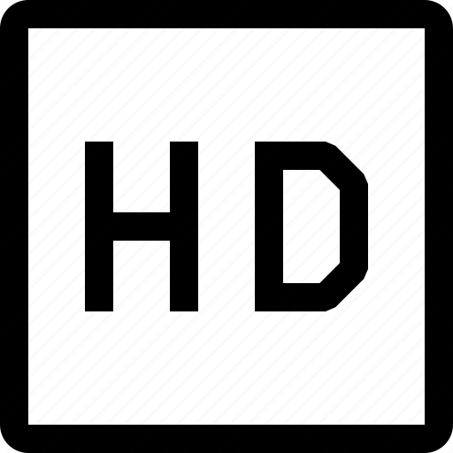 hd, movie, multimedia, video icon