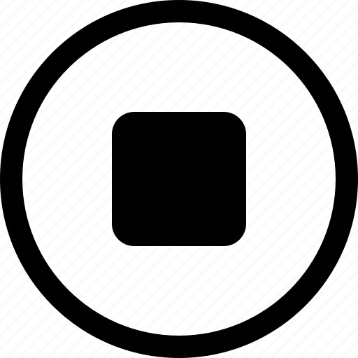 film, media, movie, multimedia, stop icon