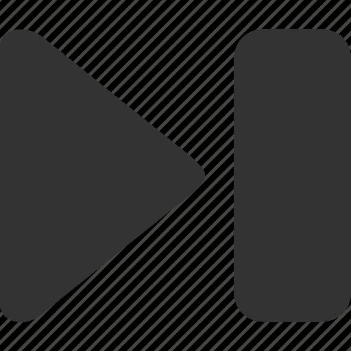 digital, media, mutimedia, skip, technology icon