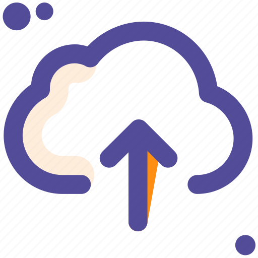 cloud, to, upload icon