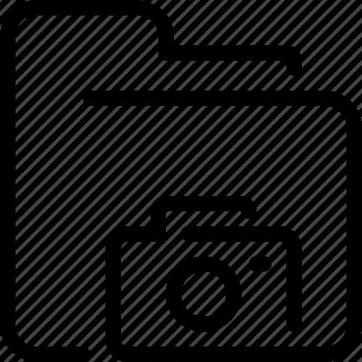 document, file, folder, photo, photography icon
