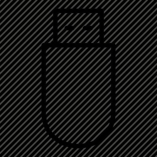 device, electronic, multimedia, music, pendrive, usb icon