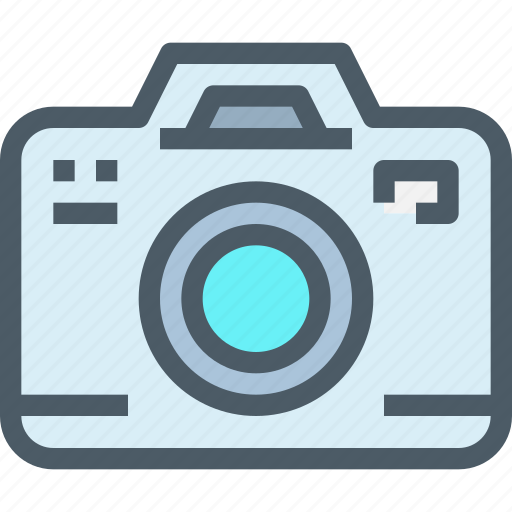cam, camera, device, dslr, media, technology icon