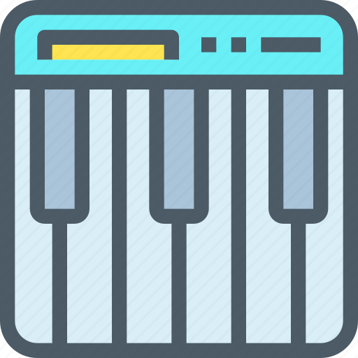 device, media, piano, song, sound, technology icon
