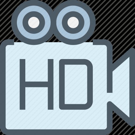 cam, camera, device, hd, media, movie, technology icon