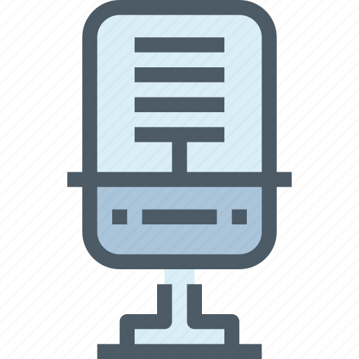 device, media, mic, song, sound, technology icon