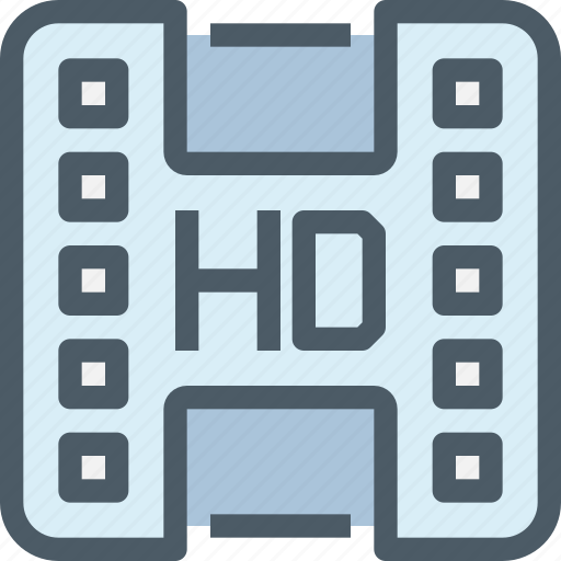 Hd, media, movie, video icon - Download on Iconfinder