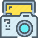 cam, camera, device, media, technology icon
