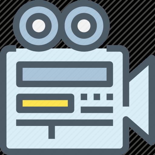 cam, camera, media, movie, video icon