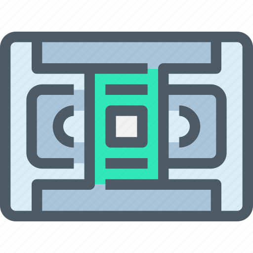 device, media, tape, technology icon