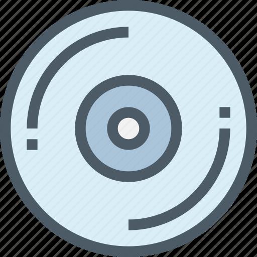 device, dj, media, office, player, technology icon