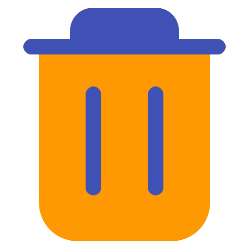 bin, delete, interface, multimedia, recycle, remove, trash icon