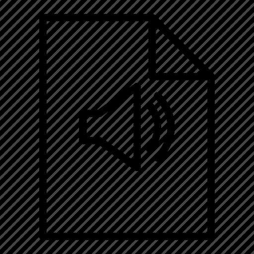 audio, device, electronic, file, multimedia, sound icon