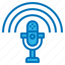 microphone, multimedia, news, podcast, speech icon