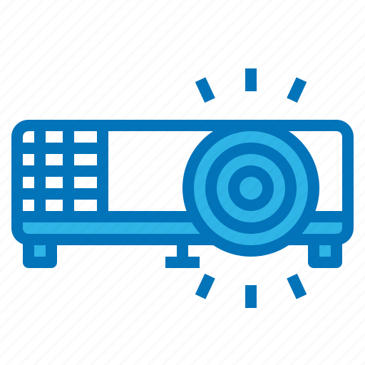 multimedia, presentation, projector, screen, slide icon