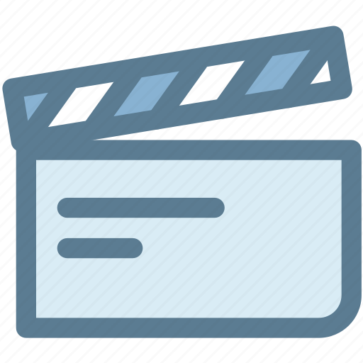 audio, capture, clapperboard, multimedia, take, video, video take icon