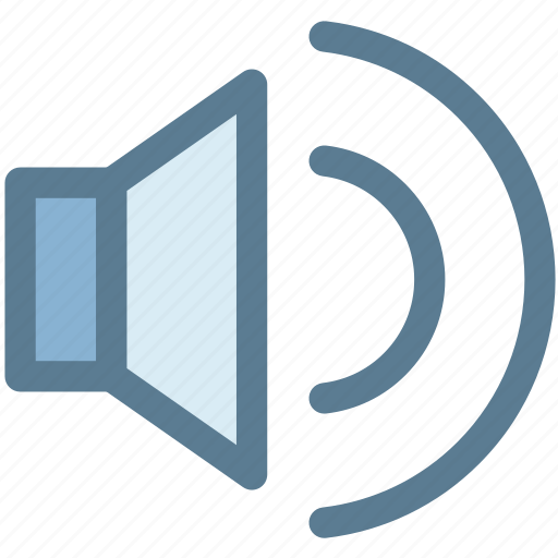 audio, loud, sound, speaker, video, volume, volume control icon
