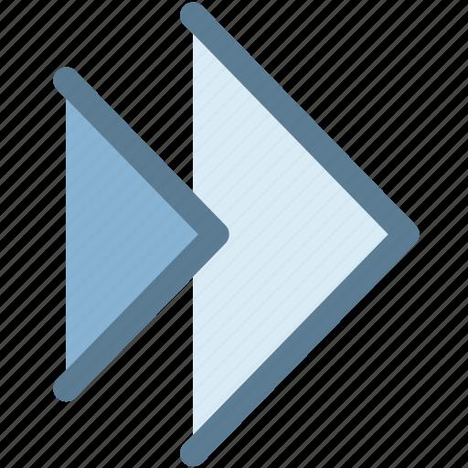 audio, fast forward, forward, multimedia, music, next icon
