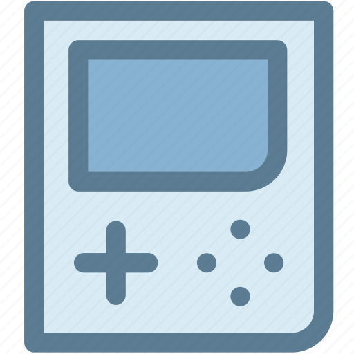 entertainment, fun, game, games, handheld game console, multimedia, portable game icon