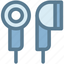 audio, earbuds, earphones, headphones, multimedia, music, sound icon