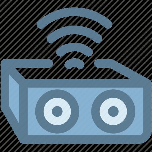 audio, bluetooth, bluetooth speaker, music, speaker, sub woofer, wireless icon