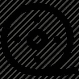 bobbine reel, camera reel, film stip, multimedia, reel, sound, tape reel icon
