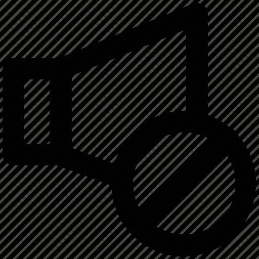 banned volume, loudspeaker, speaker, voice, volume icon