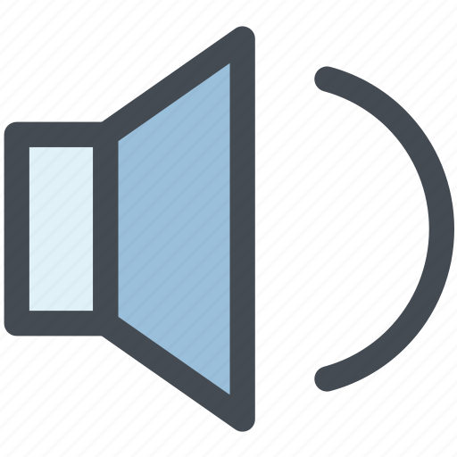audio, multimedia, sound, speaker, speaker volume, volume, volume control icon