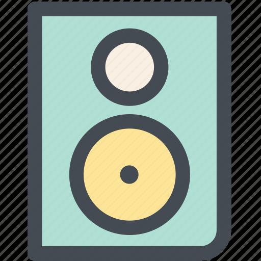 audio, computer speaker, hardware, music speaker, speaker, speakers icon