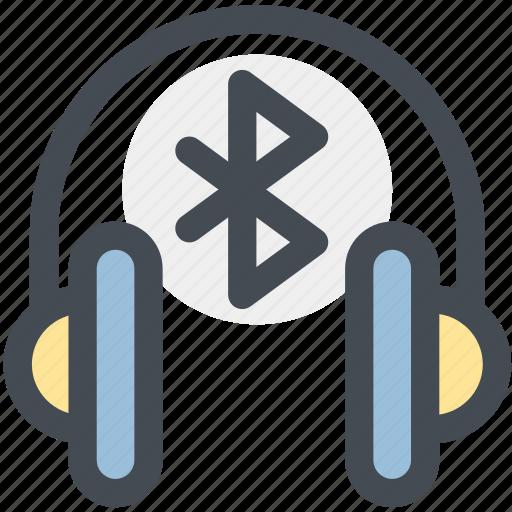 bluetooth, bluetooth headphones, connect, headphones, multimedia, speaker, wireless icon