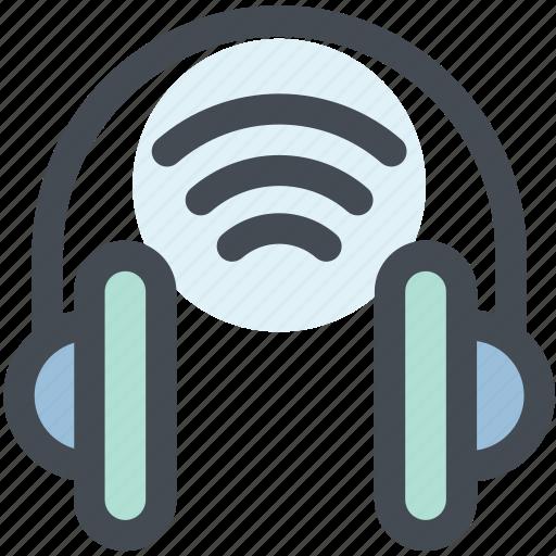 bluetooth, bluetooth headphones, connect, headphones, speaker, wireless icon