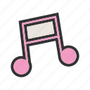 audio, music, music notes, musical note, play, record, sound