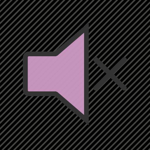 audio, loud, mute, silent, sound, volume, volume button icon