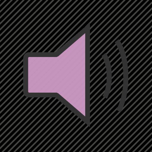 audio, controls, music, sound, speaker, voice, volume icon
