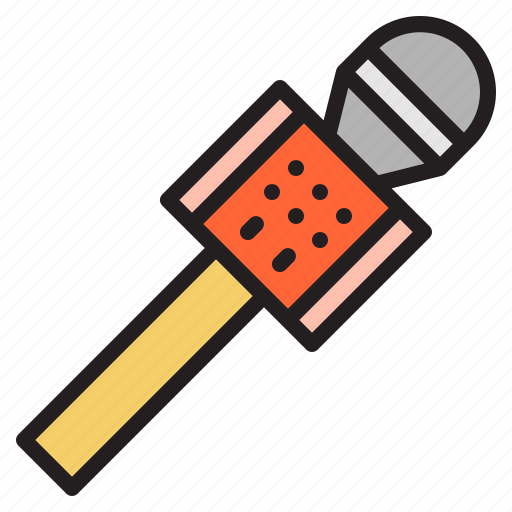 microphone, multimedia, speech, talk, wireless icon