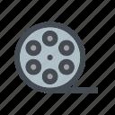 film, media, movie, roll, video