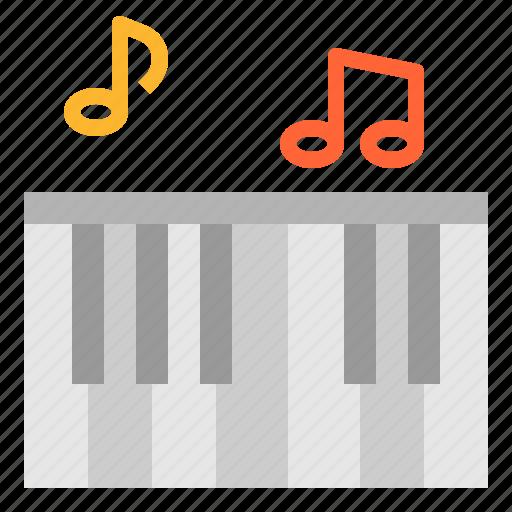 electone, instrument, multimedia, music, piano icon