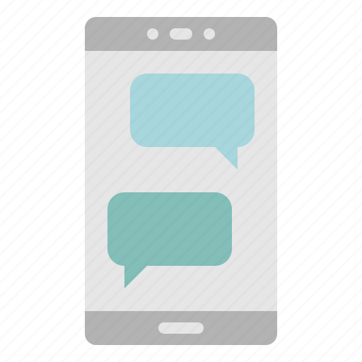 messaging, messenger, mobile, multimedia, social icon