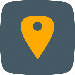 holder, location, pin, place icon